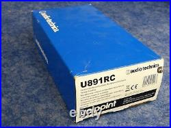 NEW Audio-Technica U891Rc Cardioid Condenser Boundary Mic w Local/Remote Switch