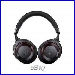 NEW Audio Technica Wireless Headphone SOLID BASS Black Red ATH-WS990BT BRD