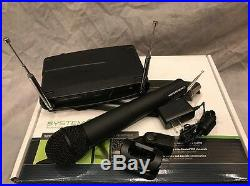 NEW Audio-technical ATW-902 VHF Wireless Mic System with Handheld Transmitter