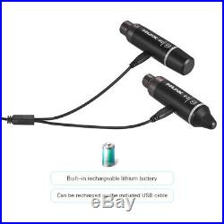 NUX- b-4 XLR Audio 2.4GHz Wireless Microphone Mic System Transmission Fr Camera