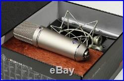 Neumann U87Ai Condenser Microphone Mic Studio Set Sound Music Voice Japan