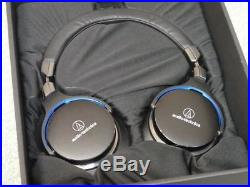 New! Audio-Technica Hi-Res Audio Driver Headphones ATH-MSR7 BK from Japan Import