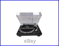 New Audio-technica Lp120 Usb Direct Drive Turntable Black Sound & Music Gear