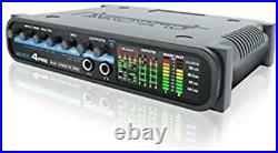 New MOTU 4Pre USB / FIREWIRE AUDIO INTERFACE Microphone Mic Preamplifiers NIB