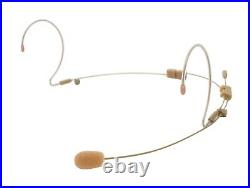OSP HS-12 Dual EarSet Headworn Microphone Mic for AudioTechnica Wireless Systems