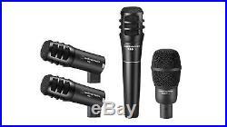Open Box Audio-Technica PRO-DRUM4 Drum Microphone Kit AT PRODRUM4 Mic Set