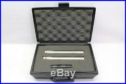 Pair (2) SHURE SM81 Condenser Microphone & Audio-Technica PRO 37 Cardioid Mic