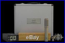 Peluso TR-14 Vacuum Tube Ribbon Microphone Mic withFlight Case Atlas Pro Audio