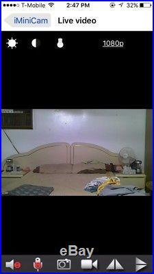 Pest Repellent 1080P Full HD Hidden Motion Detection Spy Nanny Camera Audio