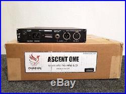 Phoenix Audio Ascent One Microphone Preamp DI neve style mic pre