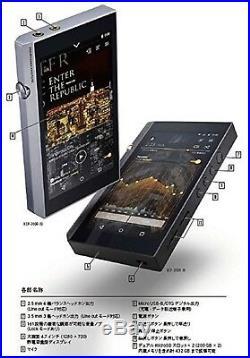 Pioneer XDP-300R Digital Audio Player XDP-300R (S) Silver Japan Model F/S USED