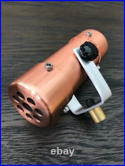 Placid Audio Copperphone Lo Fi Dynamic Effect Microphone USA Made Mic