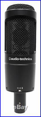 Podcasting Podcast Bundle with (2) Audio Technica Mics+Samson Headphones+Boom Arms