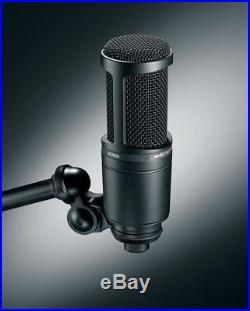 Presonus+Audio Technica Podcast Bundle with Interface+Mic+Headphones+Boom Arm