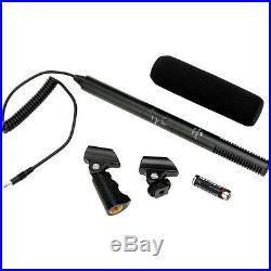 Pro AX100 VM SC shotgun mic for Sony FDR AX100 AX53 AX33 CX900 4k better audio
