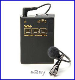 Pro EA50M WLM XLR M wireless lavalier mic fo Sony NEX EA50UH FS100U better sound