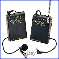 Pro MC2000U WLM H wireless lavalier handheld mic f Sony VX2000 VX2100 best sound