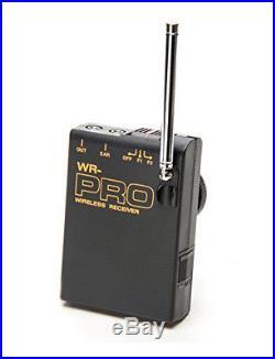 Pro MC2000U WLM wireless lavalier mic for Sony VX2000 VX2100 better clear audio