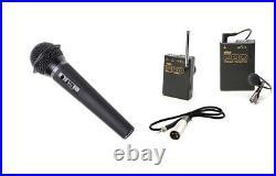 Pro PD170 WLM H XLR M wireless lavalier handheld mic for best Sony PD150 audio