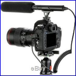 Pro a6500 VM SC-2L video mic light for Sony a6400 a6300 mirrorless better sound