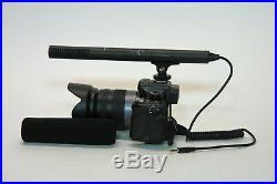 Pro a9 VM SC video mic for Sony a9 a7R IV III a7S IV III a7 IV III better sound