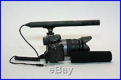 Pro a99 VM SC-2L shotgun mic LED light for Sony alpha a99 a77 a68 a65 a58 audio