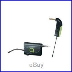 Q-Audio QWM-1900 GB UHF Cordless Wireless Guitar Radio Mic Microphone System