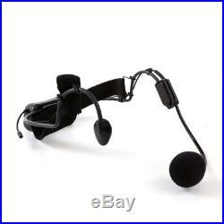 Q-Audio QWM 1900 HS UHF Wireless Head Set Microphone Mic System (863-865 MHz)