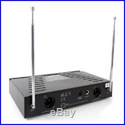 Q Audio QWM11 Quad Handheld Radio Mic System VHF School Karaoke