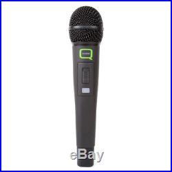 Q-Audio QWM1932 V2 HH UHF Dual Wireless Handheld Radio Microphone Mic System