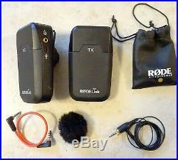 RODE RodeLink Filmmaker Wireless Audio System with Lavalier mic