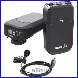 RODE Rodelink Filmmaker Kit Digital Wireless Audio System with Lavalier Mic