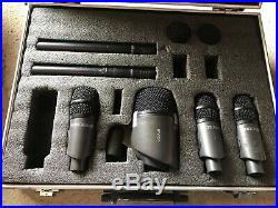 Red5 Audio Drum Mics (set of 6) comes complete with flight case