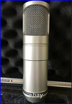 Red5 Audio RV15 Valve Microphone With PSU Studio Recording Mic