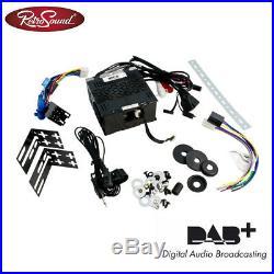 RetroSound Radiomodul San Diego DAB+ mit Black Display und DAB Antennensplitter