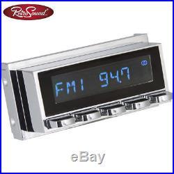 RetroSound Radiomodul San Diego DAB+ mit Chrom Display und DAB Antennensplitter