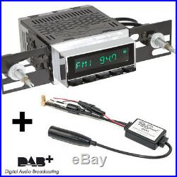 RetroSound Radiomodul San Diego DAB+ mit ChromB Display und DAB Antennensplitter