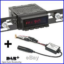 RetroSound Radiomodul Santa Barbara DAB+ schwarze Display Motor-7 Oldtimer Radio