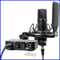 Rode Complete Studio Kit withAI-1 Audio Interface, NT1 Mic, SMR Shockmount & Cables
