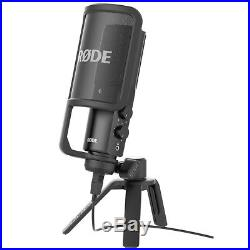 Rode NT-USB Studio Condenser Mic with USB Audio Recording