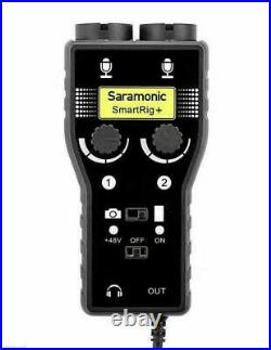 Rode NTG4 Shotgun Microphone Mic + Saramonic SmartRig+ Portable Audio Interface