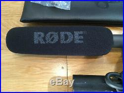 Rode Ntg-2 Directional Condenser Microphone Ntg2 Audio MIC & Xlr Cable