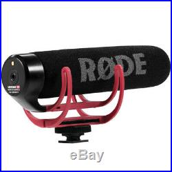 Rode VideoMic GO with Wind Muff, Mic Boom Pole, Audio Cable and Adapter