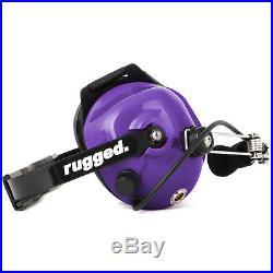 Rugged Behind The Head Two Way Radio Purple Headset NASCAR Racing Scanner Audio