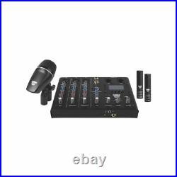 SABIAN Sound Kit 4-Piece Drum Mic and Mixer Set