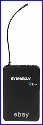 SAMSON Concert 99 Wireless Guitar Mic System K-Band+Audio Technica Headphones