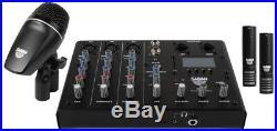 Sabian Sound Kit 4-Piece Drum Mic & Mixer Kit