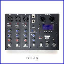 Sabian Sound Kit 4 Piece Drum Mic & Mixer Kit (PRE-OWNED)