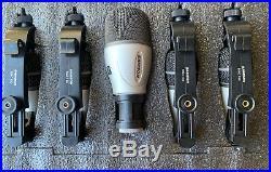 Samson Audio 5KIT Drum 5 Mics Set Microphone Tom Snare Kick