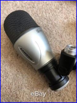 Samson Audio 7 Piece Drum Microphones Mic Kit Kick, Snare, Toms & Overheads